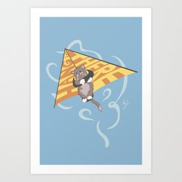 Hang (glide) in There Art Print