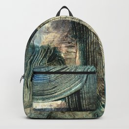 Spyglass // abstract texture painting Backpack
