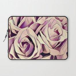 blush roses, lilac living, lilac floral, floral decor Laptop Sleeve