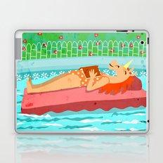 Pool Time Unicorn Laptop & iPad Skin