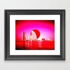 Modern Japan - Yokohama Framed Art Print