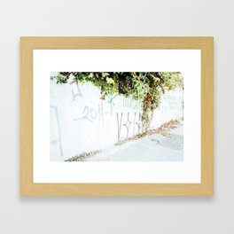 Plantas Framed Art Print
