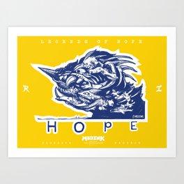 Legends of Hope: Wave of Momentum (Sachuest Point, Rhode Island) Art Print