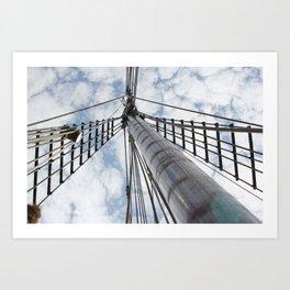 Set Sails Art Print