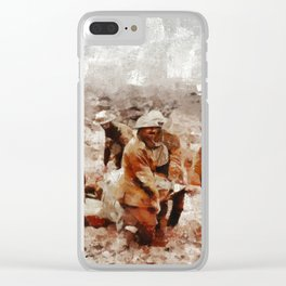The Horror of War, WWI Clear iPhone Case
