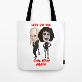 Rocky Horror Picture Show Time Warp Tote Bag