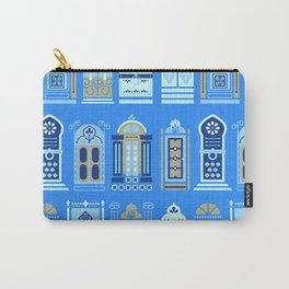 Moroccan Doors – Cornflower Blue Palette Carry-All Pouch