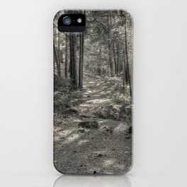 In the forest iPhone Case
