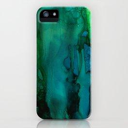 Drifting Underwater iPhone Case