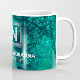 100% royalties donated to TNA Facial Pain Association - (grunge) Coffee Mug