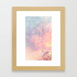 Ottawa Sunset Framed Art Print
