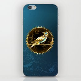 Mechanical Bird ( Steampunk ) iPhone Skin