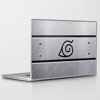 naruto Laptop & iPad Skins featuring Naruto Headband by Kesen