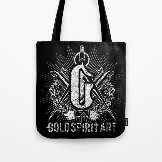 Gold Spirit Art Tote Bag