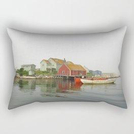 Fog in the Maritimes Rectangular Pillow