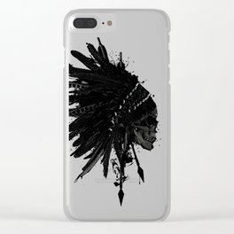 Warbonnet Skull Clear iPhone Case