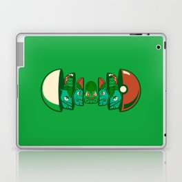Poketryoshka - Grass Type Laptop & iPad Skin