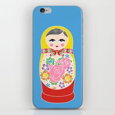 Matryoshka iPhone & iPod Skin