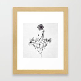 Inspiring - Breaking Free from the roots Framed Art Print