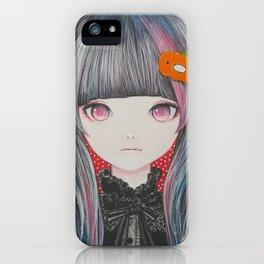 Pumpkin Nightmare iPhone Case