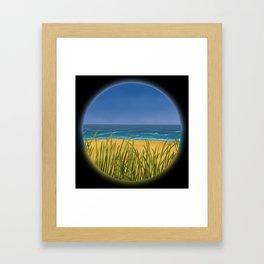 World Within Me - Beachside Framed Art Print