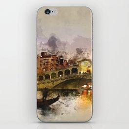 Venezia, Canal Grande iPhone Skin