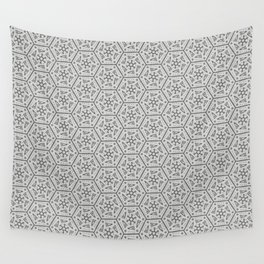 Going Round and Round - Stone Grey Wall Tapestry