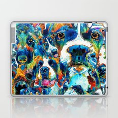 Dog Lovers Delight - Sharon Cummings Laptop & iPad Skin