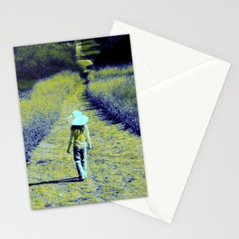 Girl of the Golden Path. © S. Montague. Stationery Cards