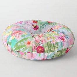 Floral VII Floor Pillow