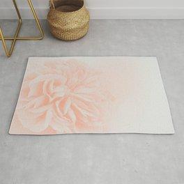 Light Peach Rose #3 #floral #art #society6 Rug