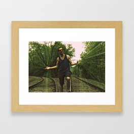 which way will you go. Framed Art Print