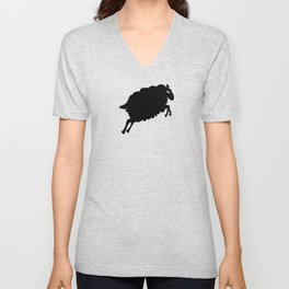 Angry Animals: Sheep Unisex V-Neck