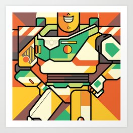 Buzz Lightyear Art Print