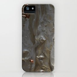 Copper and Pearls iPhone Case