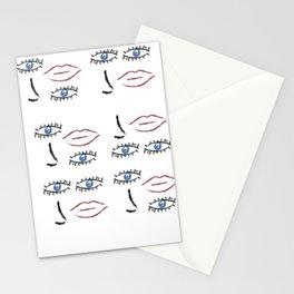 Beauty in Disorder Pattern Stationery Cards