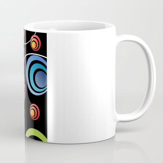 Circles In Circles. Mug