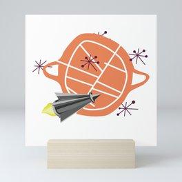 Visit New Worlds Mini Art Print