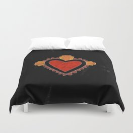 Black love Duvet Cover