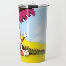 Calvin And Hobbes Holiday Travel Mug
