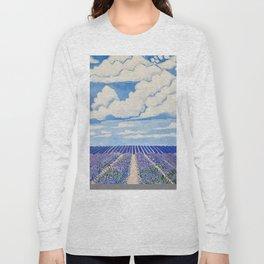 Lavender Fields Forever  Long Sleeve T-shirt