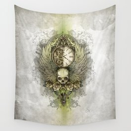 Wings Of Time Wall Tapestry