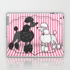 Pretty Poodles Laptop & iPad Skin