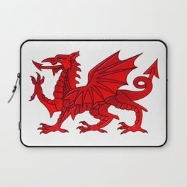 Welsh Dragon With a Bevel Effect Laptop Sleeve