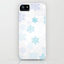 Snowflakes iPhone Case