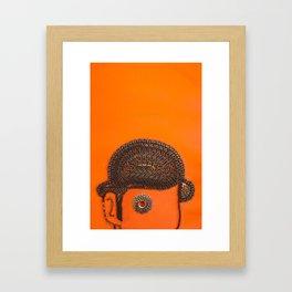 002: Clockwork Orange - 100 Hoopties Framed Art Print