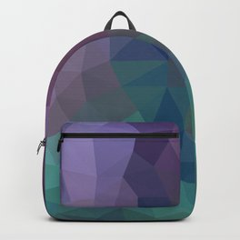 Shades of Amethyst Low Poly Backpack