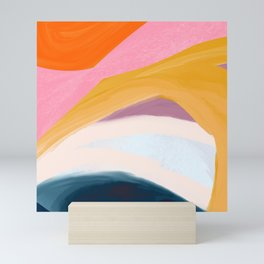 Let Go - no.36 Shapes and Layers Mini Art Print