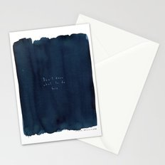 Don't know what to do here Stationery Cards