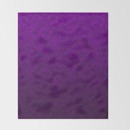 Purple marble Throw Blanket